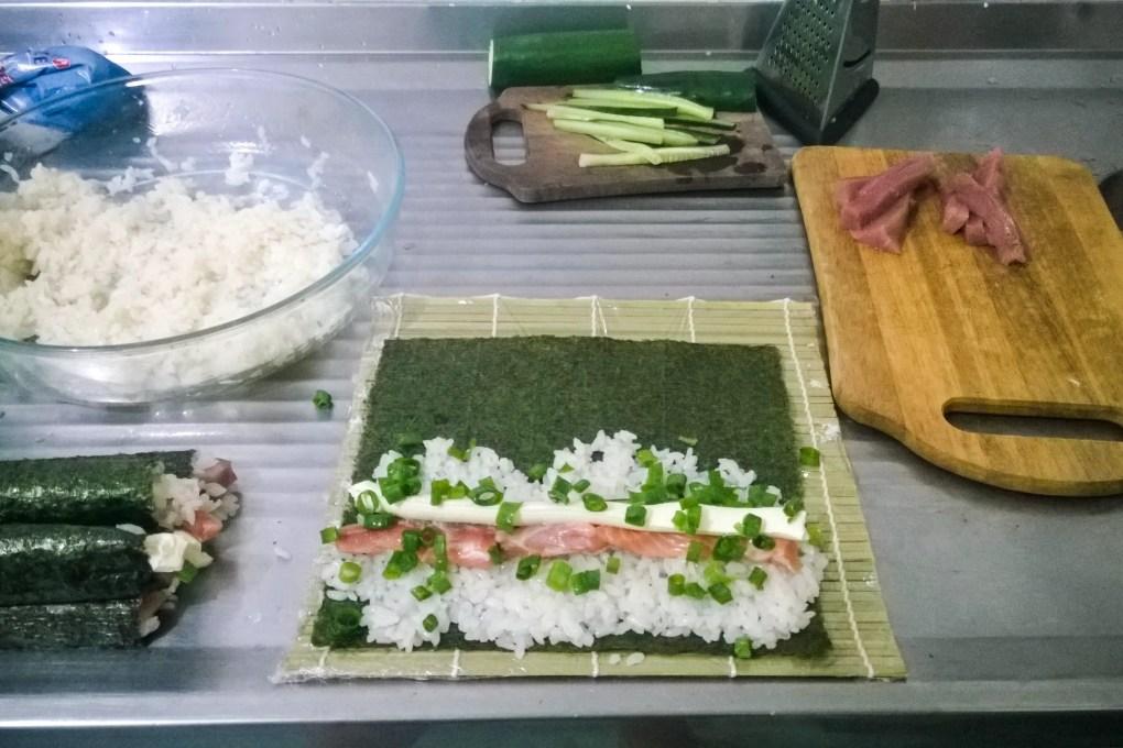 Sushi em casa é possível!