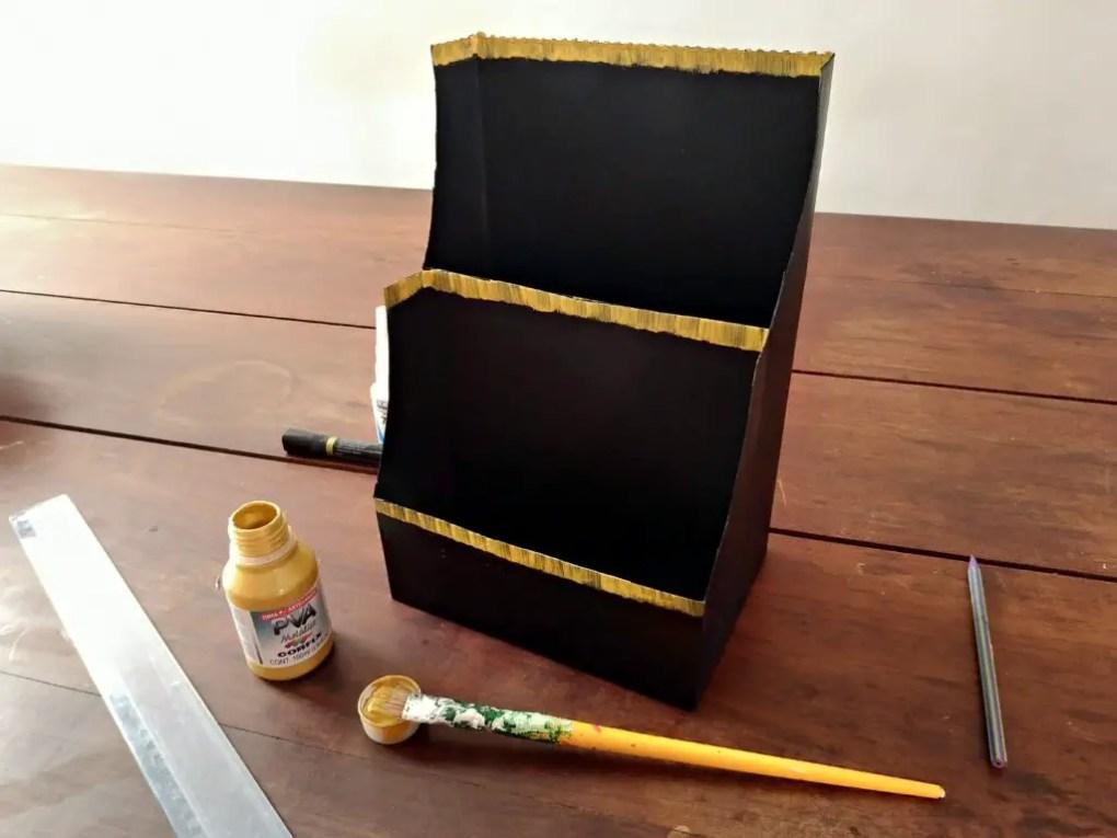 DIY Caixa Organizadora