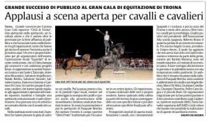 Città di Troina, Gran Galà Equestre