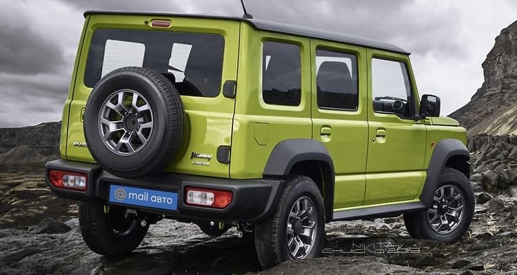 The Suzuki Jimny 5 door is under testing; It will be based on 3 Door facelifted Jimny that is also under testing.