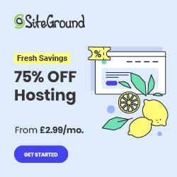 Website Hosting with Siteground