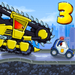 Car Eats Car 3 v1.4 + (Mod Money) free download