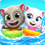 Talking Tom Pool v2.0.1.489 + (Mod Money & More) download free
