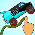 Road Draw: Climb Your Own Hills v1.8.9 + (Infinite Coins/Fuel) download free