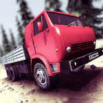 Truck Driver crazy road v 2.0.04 APK + Hack MOD (money)