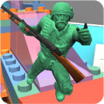 Army Toys Town 1.2b APK + Hack MOD (Unlimited money / gems / skill points)