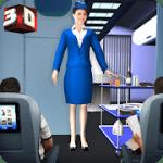 Airport Staff Flight Attendant Air Hostess Games v 1.4 Hack MOD APK (Large number of stars)