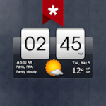 Sense Flip Clock & Weather Ad-free v 5.41.1 APK Paid