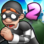 Robbery Bob 2  Double Trouble v 1.6.8.10 Hack mod apk  (Unlimited Coins)