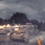 Panzer War v 2020.5.3.3 Hack mod apk (Free Shopping)