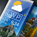 Weather Live Wallpaper. Current forecast on screen 1.5.5 Pro APK