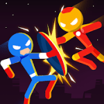 Stick Super Hero Strike Fight for heroes legend v 1.1.0 Hack mod apk (A lot of gold coins / diamonds)