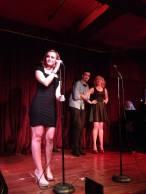 Emily Clark, Andy Kenareki, Meghan Allison (Festivus 2013)