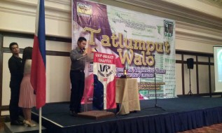 VP Rey John Lorca giving the Opening Remarks