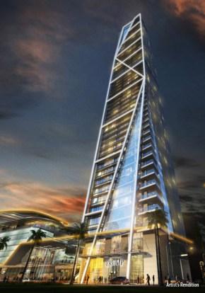 Trump Tower Manila/ Kalayaan Ave/ Broadway Malyan, Pomeroy Studio