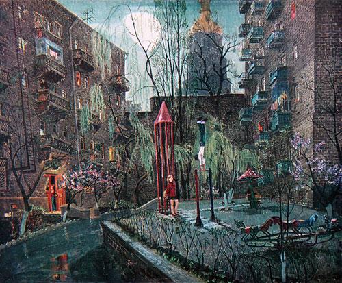 Семен Каплан - Сонце і місяць. Київський двір, 1978