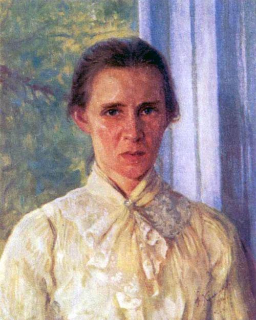 Фотій Красицький - портрет Лесі Українки, 1904