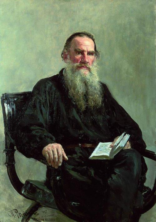 """Ілля Рєпін - """"Л. Н. Толстой"""", 1887"""