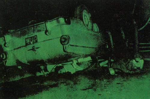 Енді Воргол. Смерті. 1963. Шовкографія тушшю, синтетична полімерна фарба, полотно.