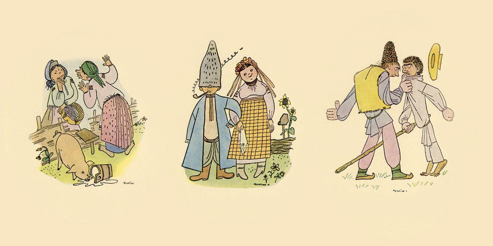 ЕКОлогічна карикатура: Українське село в зображеннях Едварда Козака