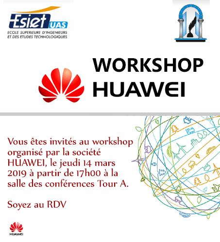 workshop huawei