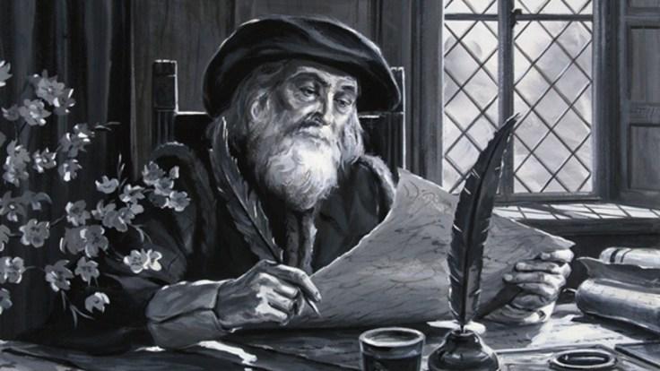 John Wycliffe - Translator English Bible 02