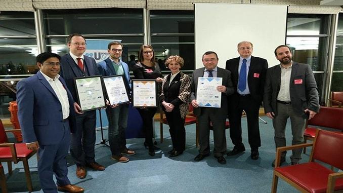 Microdrones® Wins E.U. Drone Award