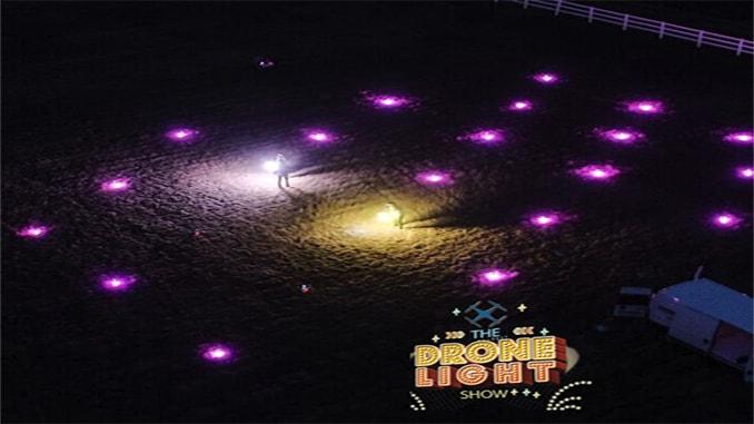 Autonomous Drone Light Show