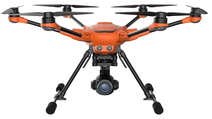The H520 Incorporates Multiple Interchangeable Payload Options, DataPilot™ Mission Planning Software and All-New YES! Commercial Service Program