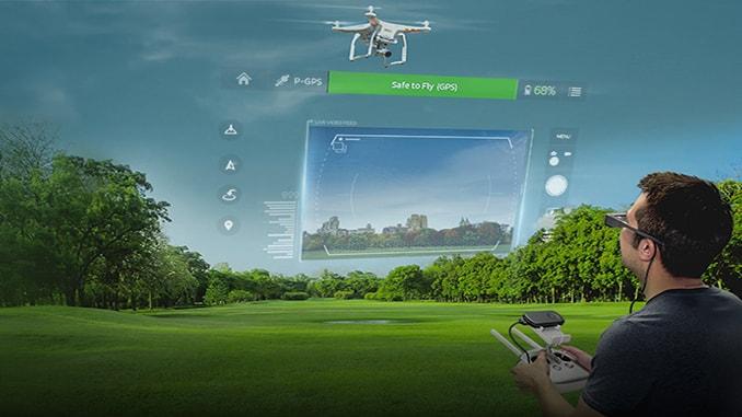 3D digital drone