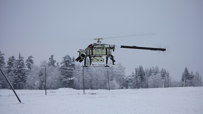 UAVOS NOW OFFERS ELECTRIC UNMANNED HELICOPTER WITH INCREASED LOAD CAPACITY