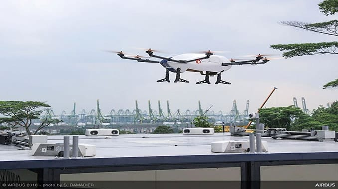 Airbus Completes First Flight Of Its Commercial Delivery Drone 'Skyways'