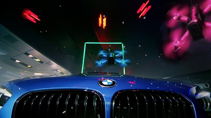 BMW Brings The Drone Racing League To BMW Welt In Munich