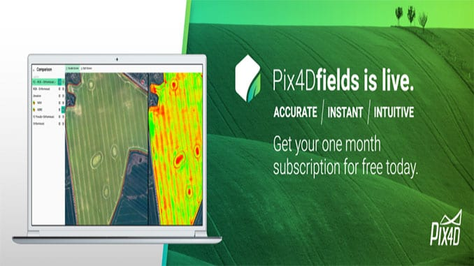 Pix4D's First Fully Dedicated Product For Agriculture – Pix4Dfields