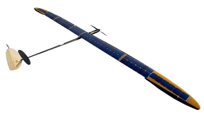 Solar powered aircraft