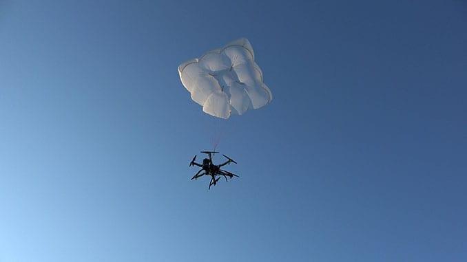 Drone Rescue Presents Innovative Parachute Rescue System