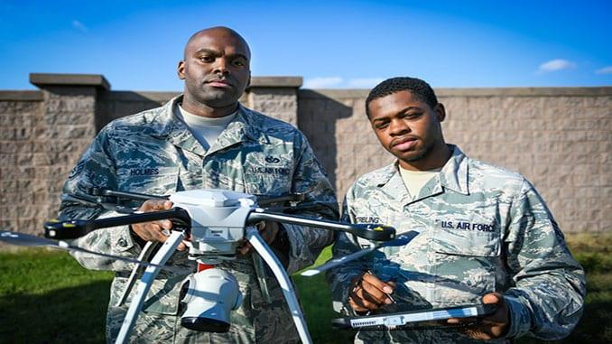 USAF Deploys sUAS for Runway Damage Assesment