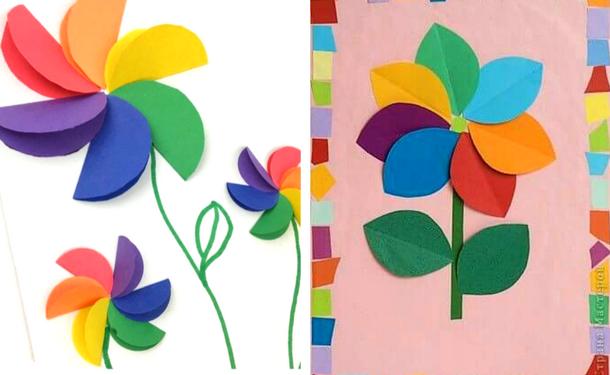 Открытки к 8 марта своими руками из цветной бумаги маме