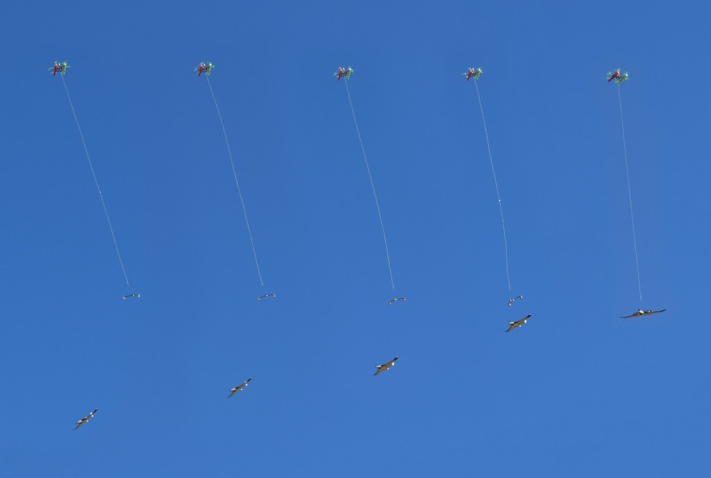 Aircrane launch sequence