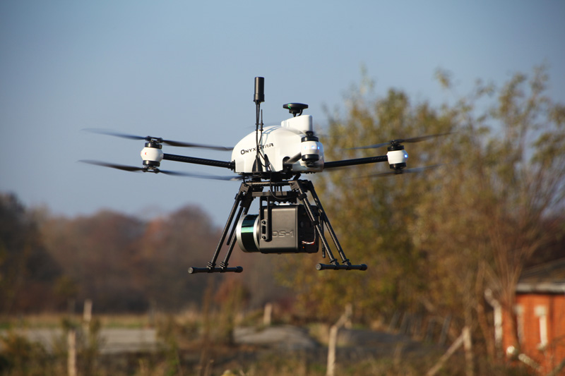 Lidar 3d scanning drone - LiDAR OnyxScan