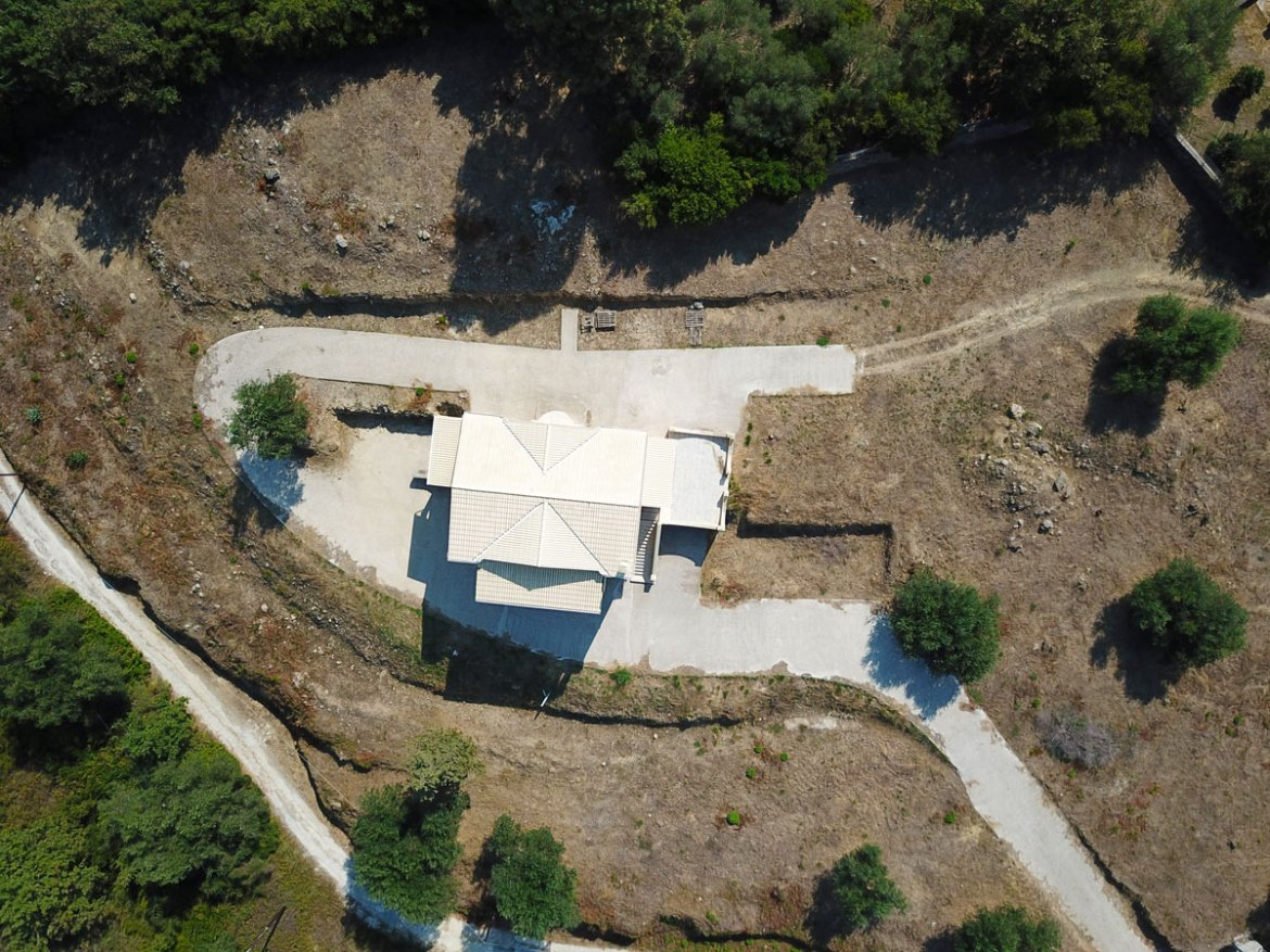 Drone aerial photography in real estate market