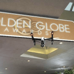uav drone at golden globes