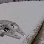milliennium falcon drone model