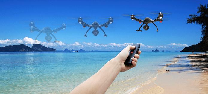 typhoon wizard drone remote control
