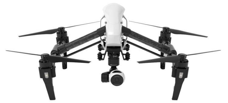 dji inspire 1 white camera drone
