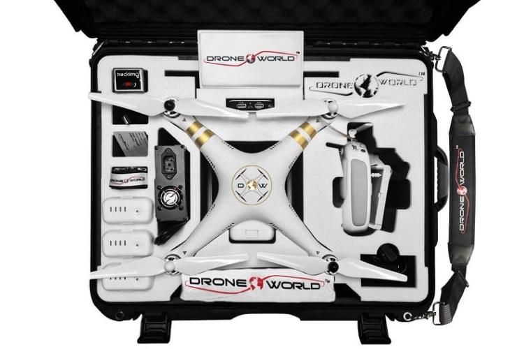 drone world phantom 3 drone kit