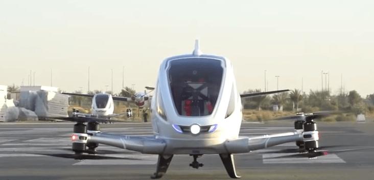 Ehang 184 Dubai Taxi Drone