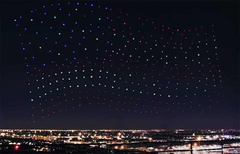 Superbowl drones 2017