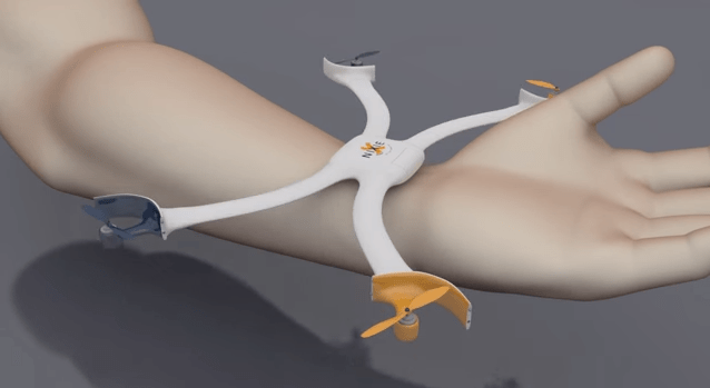 nixie wearable uav drone