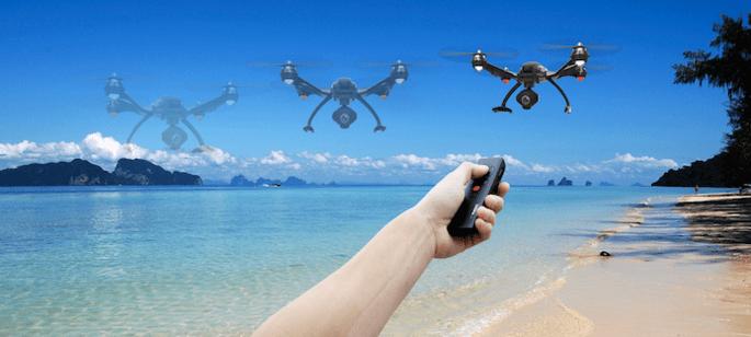 yuneec wizard drone remote